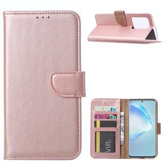 Bookcase Samsung Galaxy S20 Ultra hoesje - Rosé Goud