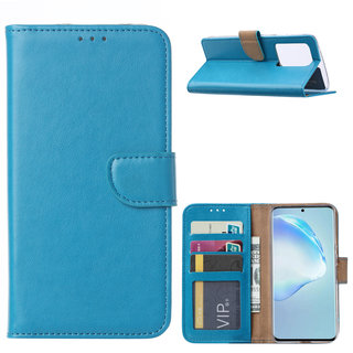 Bookcase Samsung Galaxy S20 Ultra hoesje - Blauw