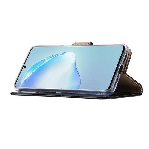 Bookcase Samsung Galaxy S20 hoesje - Zwart