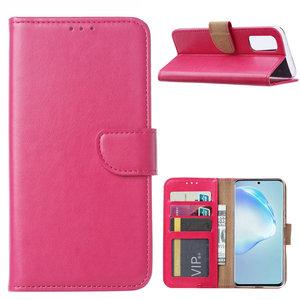 Bookcase Samsung Galaxy S20 hoesje - Roze