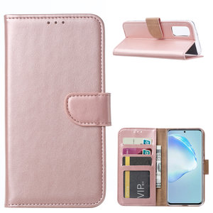Bookcase Samsung Galaxy S20 hoesje - Rosé Goud