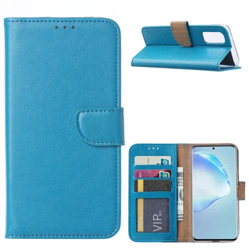 Bookcase Samsung Galaxy S20 hoesje - Blauw