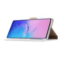 Bookcase Samsung Galaxy S10 Lite hoesje - Wit