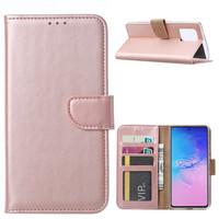 Bookcase Samsung Galaxy S10 Lite hoesje - Rosé Goud