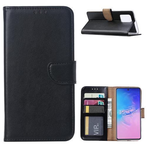 Bookcase Samsung Galaxy S10 Lite hoesje - Zwart