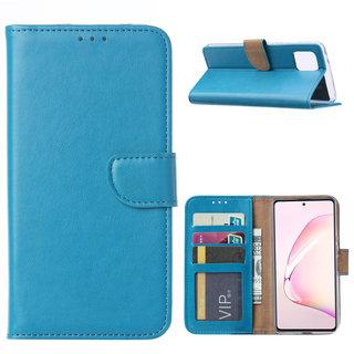 Bookcase Samsung Galaxy Note 10 Lite hoesje - Blauw