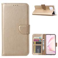 Bookcase Samsung Galaxy Note 10 Lite hoesje - Goud