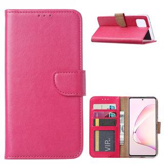 Bookcase Samsung Galaxy Note 10 Lite hoesje - Roze