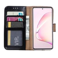 Bookcase Samsung Galaxy Note 10 Lite hoesje - Zwart