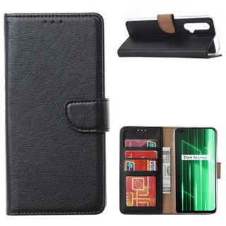 Bookcase Xiaomi Realme X50 5G hoesje - Zwart