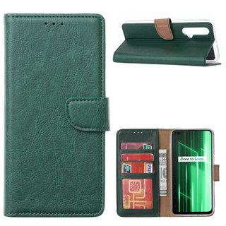 Bookcase Xiaomi Realme X50 5G hoesje - Smaragdgroen