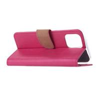 Bookcase Apple iPhone 12 Pro hoesje - Roze