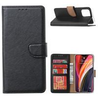 Bookcase Apple iPhone 12 Pro hoesje - Zwart