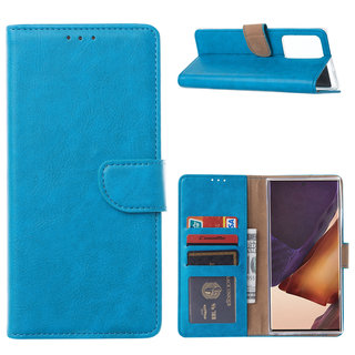 Bookcase Samsung Galaxy Note 20 Ultra hoesje - Blauw