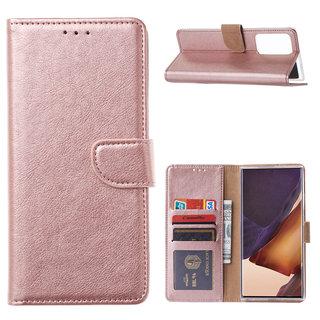 Bookcase Samsung Galaxy Note 20 Ultra hoesje - Rosé Goud