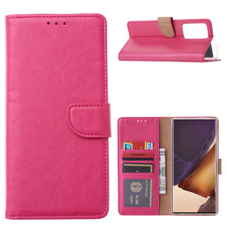 Bookcase Samsung Galaxy Note 20 Ultra hoesje - Roze