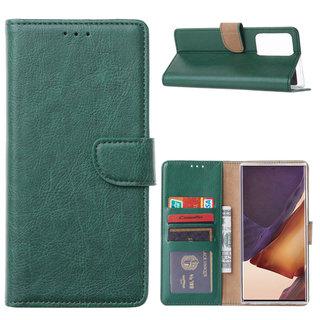 Bookcase Samsung Galaxy Note 20 Ultra hoesje - Smaragdgroen