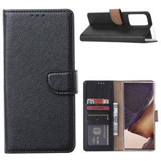 Bookcase Samsung Galaxy Note 20 Ultra hoesje - Zwart