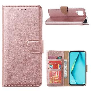Bookcase Huawei P40 Lite hoesje - Rosé Goud