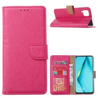 Bookcase Huawei P40 Lite hoesje - Roze