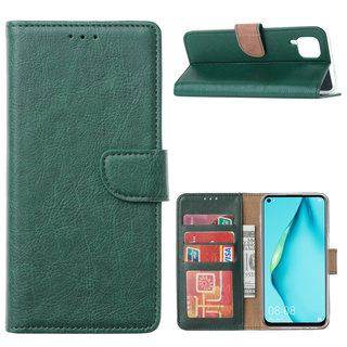 Bookcase Huawei P40 Lite hoesje - Smaragdgroen