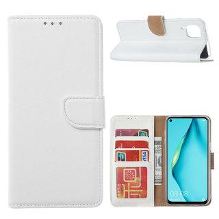 Bookcase Huawei P40 Lite hoesje - Wit