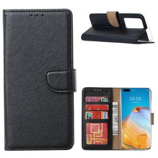 Bookcase Huawei P40 Pro+ Hoesje - Zwart