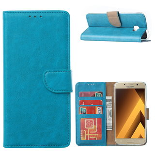 Bookcase Samsung Galaxy A5 2017 hoesje - Blauw