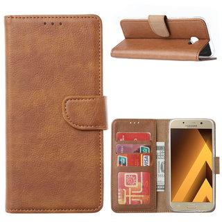 Bookcase Samsung Galaxy A5 2017 hoesje - Bruin