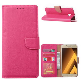 Bookcase Samsung Galaxy A5 2017 hoesje - Roze