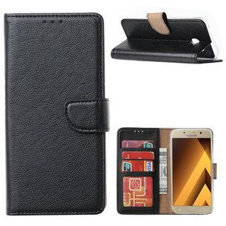 Bookcase Samsung Galaxy A5 2017 hoesje - Zwart
