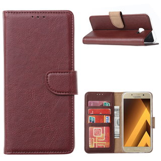 Bookcase Samsung Galaxy A5 2017 hoesje - Bordeauxrood
