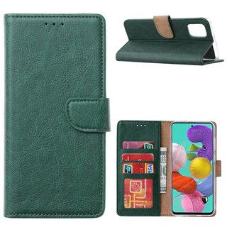 Bookcase Samsung Galaxy A51 hoesje - Smaragdgroen
