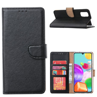 Bookcase Samsung Galaxy A41 hoesje - Zwart