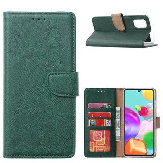 Bookcase Samsung Galaxy A41 hoesje - Smaragdgroen