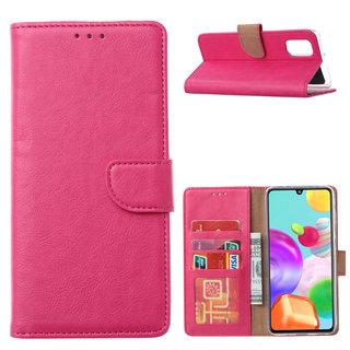 Bookcase Samsung Galaxy A41 hoesje - Roze