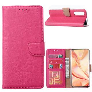 Bookcase Oppo Find X2 Neo hoesje - Roze