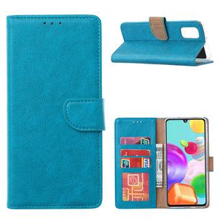 Bookcase Samsung Galaxy A41 hoesje - Blauw