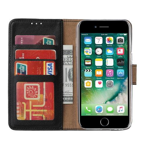 Bookcase Apple iPhone 6 / 6S hoesje - Zwart