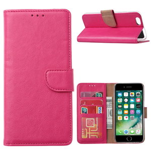 Bookcase Apple iPhone 6 / 6S hoesje - Roze