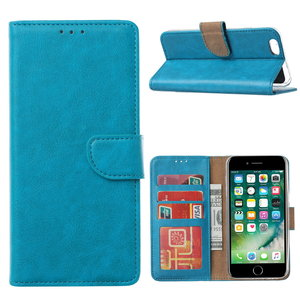 Bookcase Apple iPhone 6 / 6S hoesje - Blauw