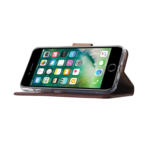 Bookcase Apple iPhone 6 / 6S hoesje - Bordeauxrood