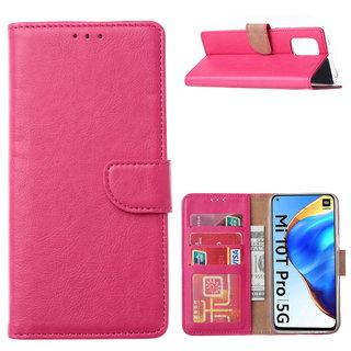 Bookcase Xiaomi Mi 10T Pro 5G Hoesje - Roze