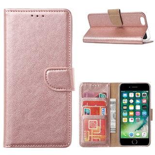 Bookcase Apple iPhone 6 / 6S hoesje - Rosé Goud