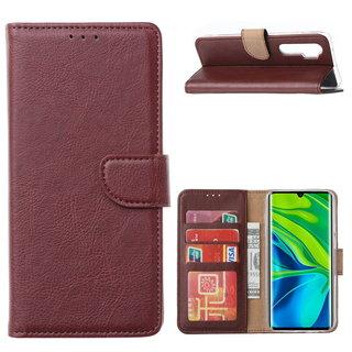 Bookcase Xiaomi Mi Note 10 Lite Hoesje - Bordeauxrood