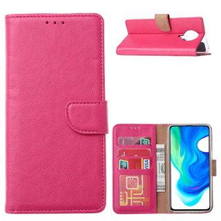 Bookcase Xiaomi Poco F2 Pro Hoesje - Roze