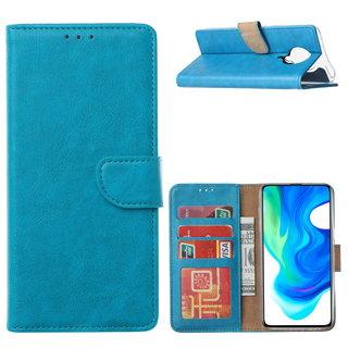 Bookcase Xiaomi Poco F2 Pro Hoesje - Blauw