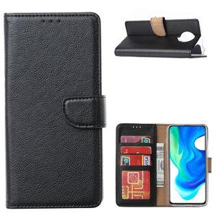 Bookcase Xiaomi Poco F2 Pro Hoesje - Zwart