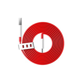 7 / 7 Pro / 7T / 7T Pro Originele Type-C Warp kabel 1,5 Meter - Rood
