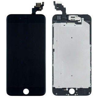 Voorgemonteerd iPhone 6 Plus scherm en LCD (AAA+ kwaliteit) - Zwart